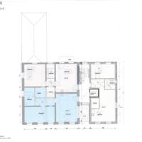 grondplan 1e verdieping